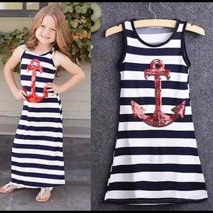 Other - Sparkle anchor maxi dress